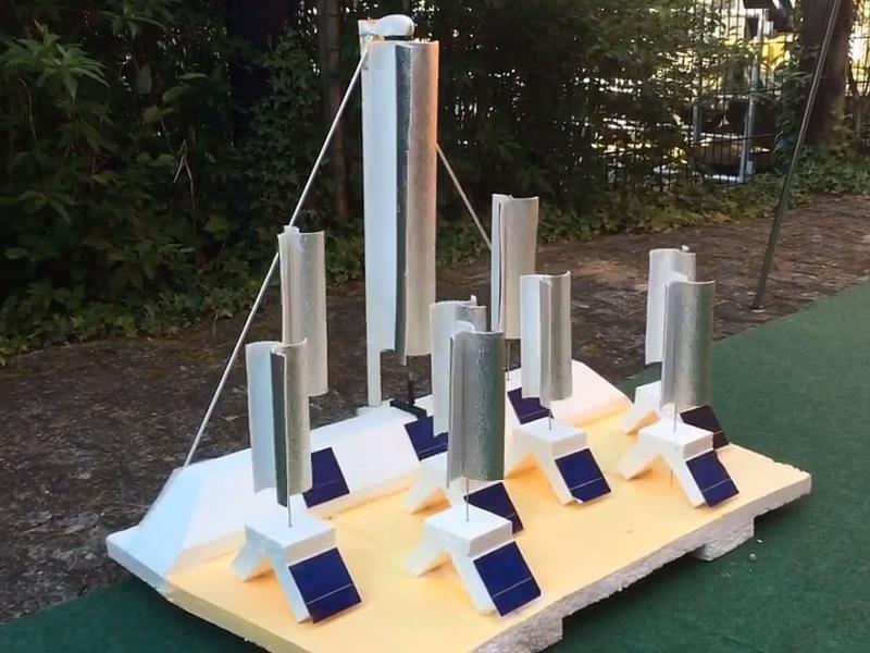 Installation Energiewende - Land Art (Wettbewerbsbeitrag)
