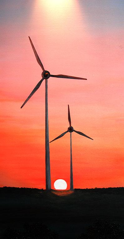 Morgen für erneuerbare Energien
